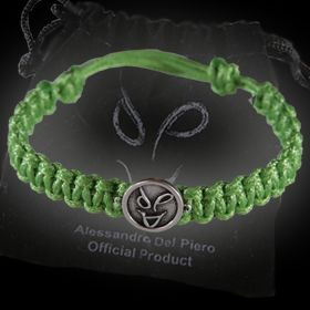 Braccialetto in corda verde ADP Bracciale corda verde ADP