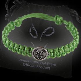 Braccialetto in corda verde ADP
