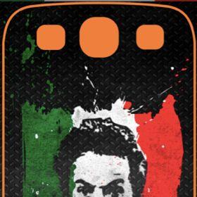 Cover Adesive iphone & samsung Galaxy S3 Sticker Linguaccia