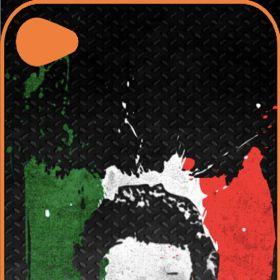 Cover Adesive iphone & samsung iPhone4/4S Sticker Linguaccia